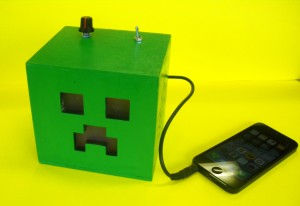 DT H's Minecraft mp3 amp