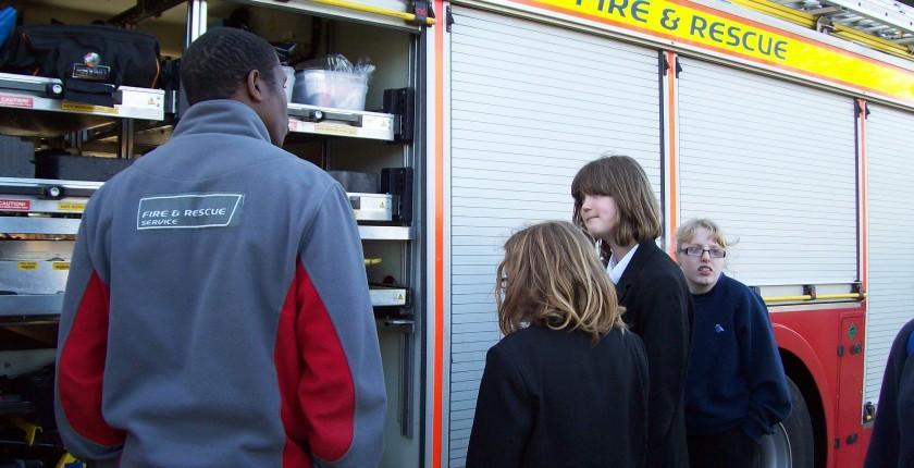 Fire service visit