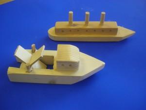 DT wooden boat 2