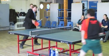 Table tennis exhibition