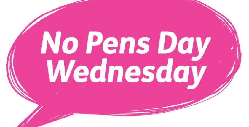 No Pens Day